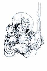 SPACE SUIT by EricCanete