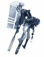 BLACK WIDOW BALLERINA by EricCanete
