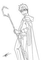 Jack Frost with drap sleeve by KayameYuri