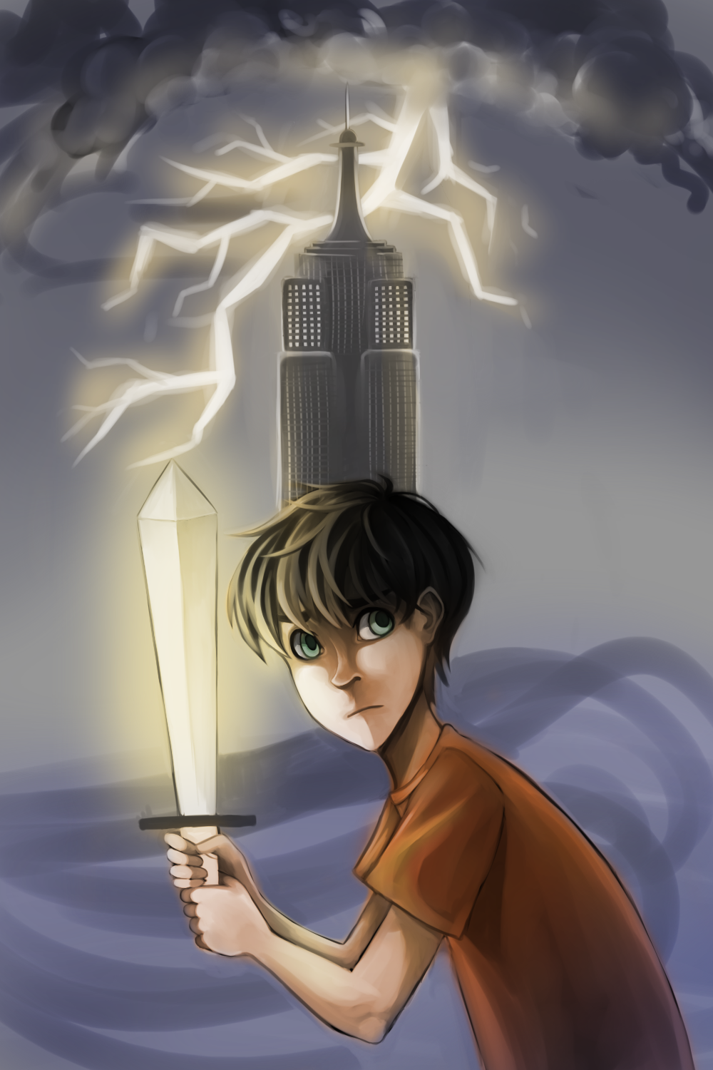 The Lightning Thief by Kahmelion