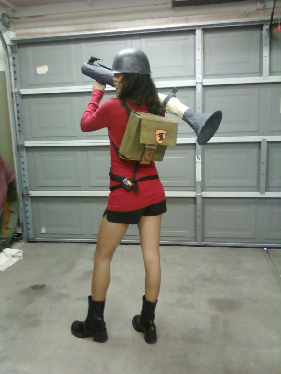 TF2 Soldier Outfit :D by j3nNj3nNy