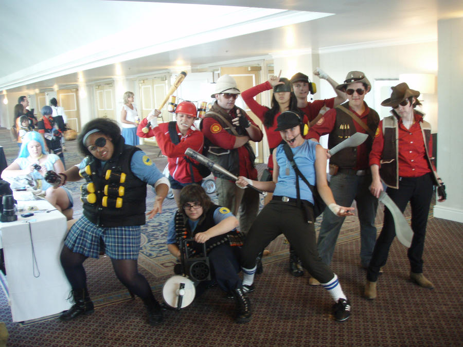 Team Fortress Cosplay Kintoki by j3nNj3nNy