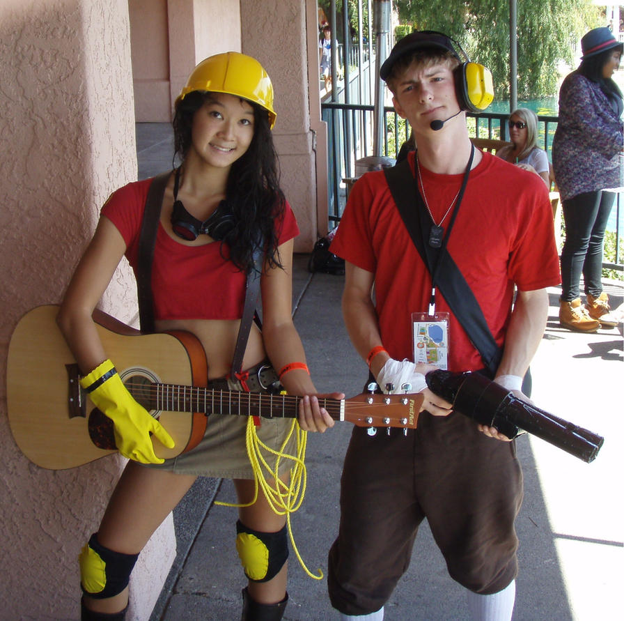Engie and Scout Cosplay by j3nNj3nNy