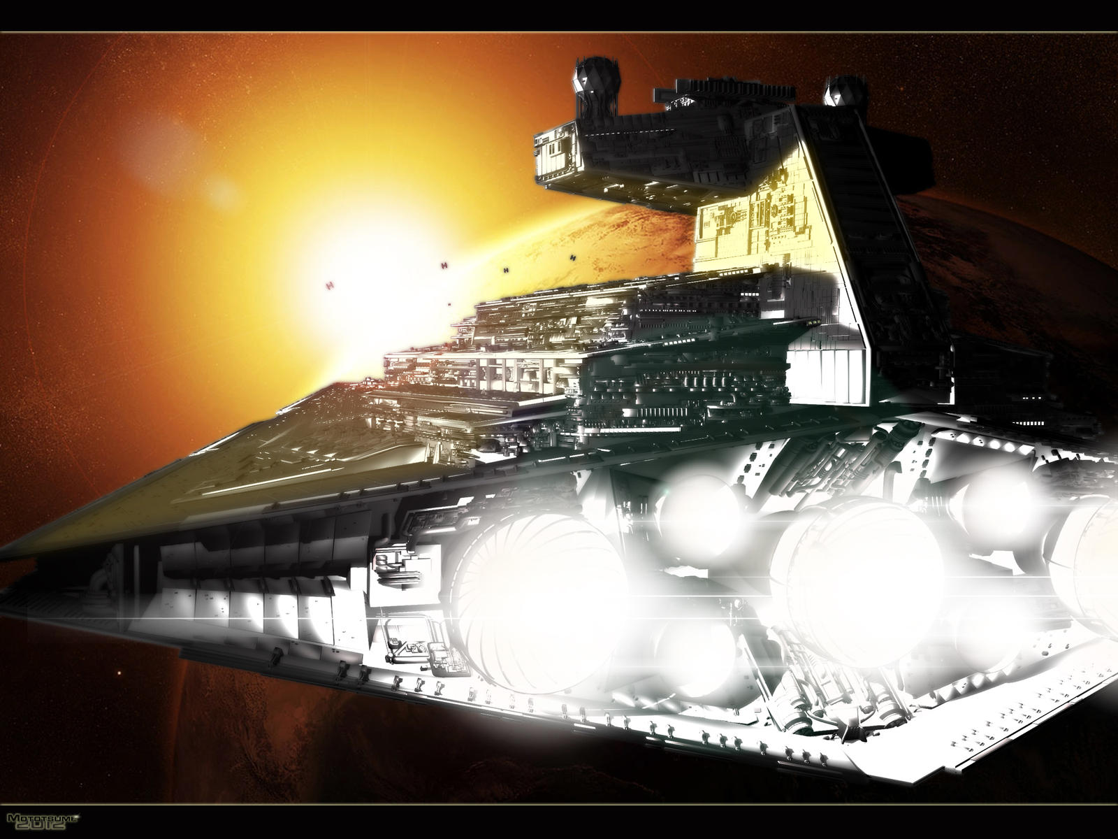 Star Destroyer by MotoTsume