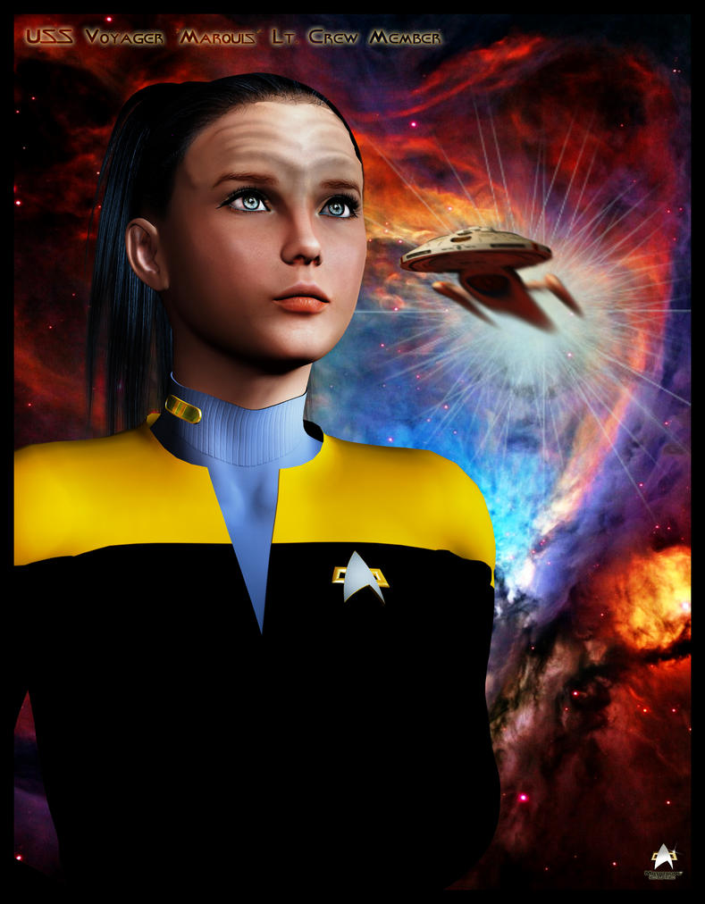 USS Voyager `Marquis`Lt Crew Member by MotoTsume