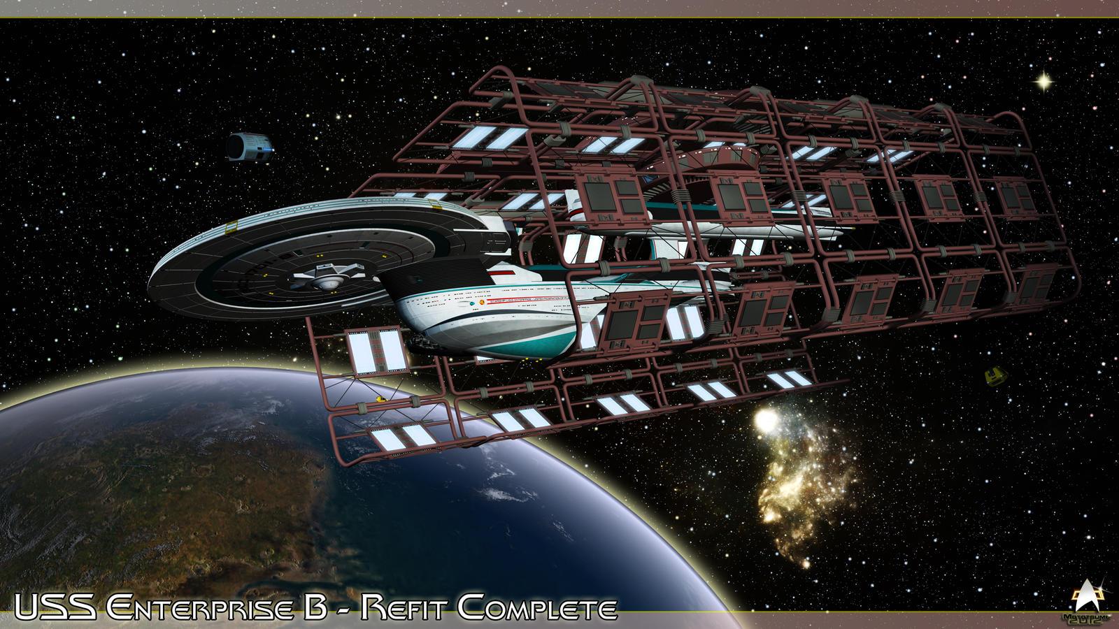 USS Enterprise B - Refit Complete by MotoTsume
