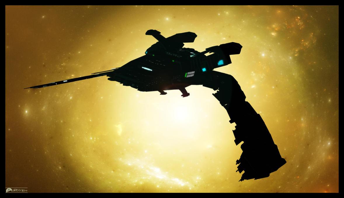 Romulan -  Reman Scimitar by MotoTsume