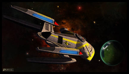 Terran Empire Prometheus by MotoTsume
