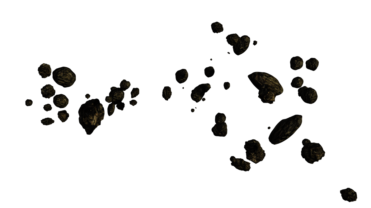 Asteroid-belt-13a by MotoTsume