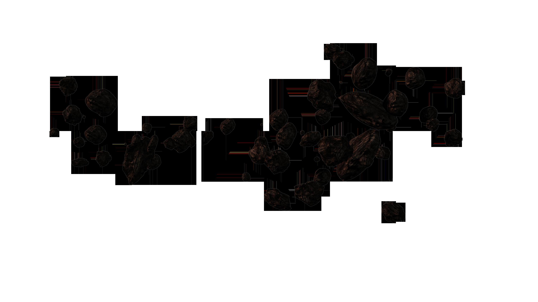 asteroid belt white background - photo #48