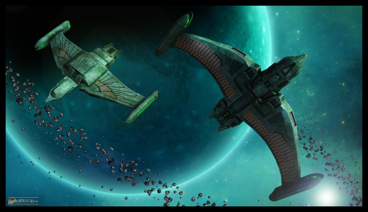 Romulan Heavy Defenders by MotoTsume
