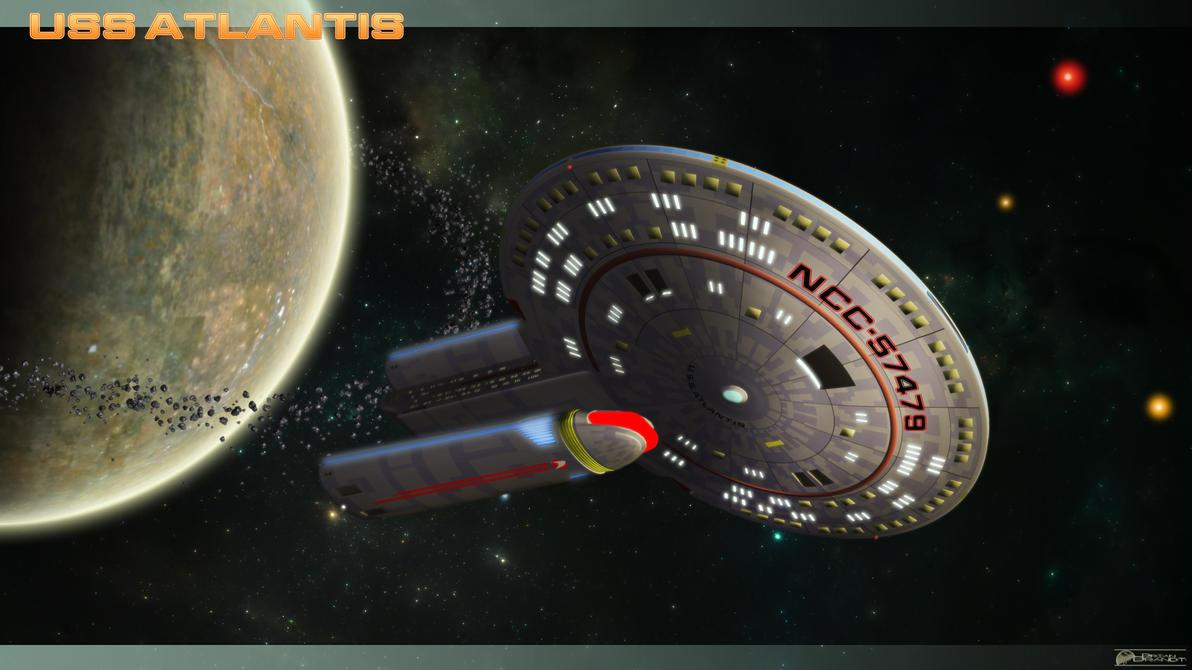 USS Atlantis by MotoTsume