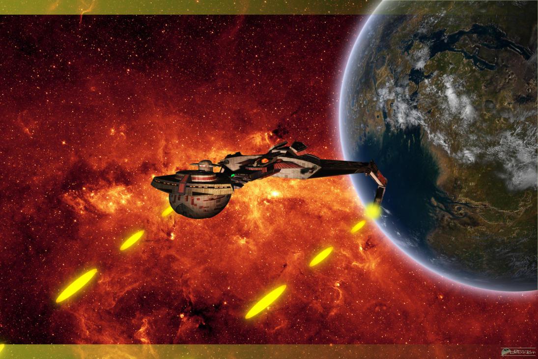 Klingon Fire by MotoTsume