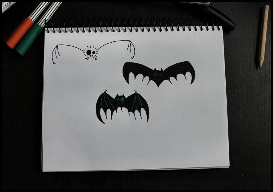 Bats. by MoiraHermione