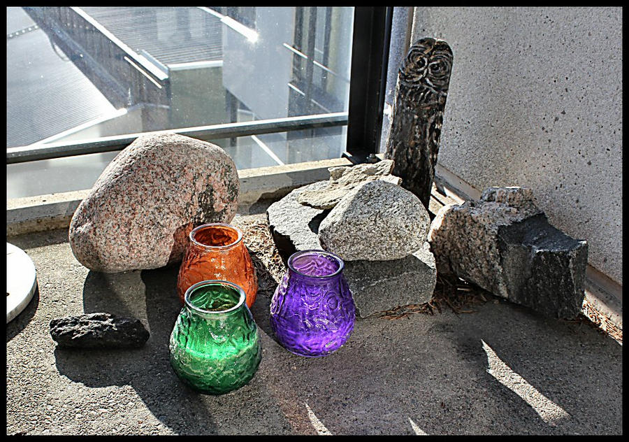 Lanterns and stones. by MoiraHermione