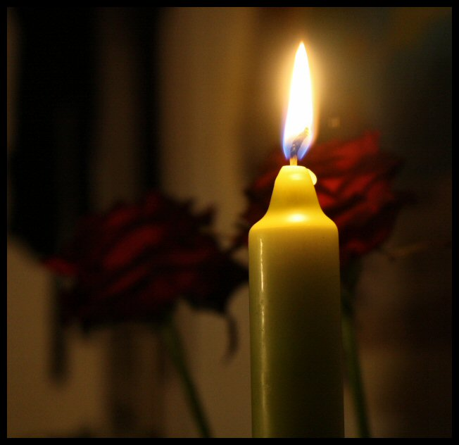 Green candle. by MoiraHermione