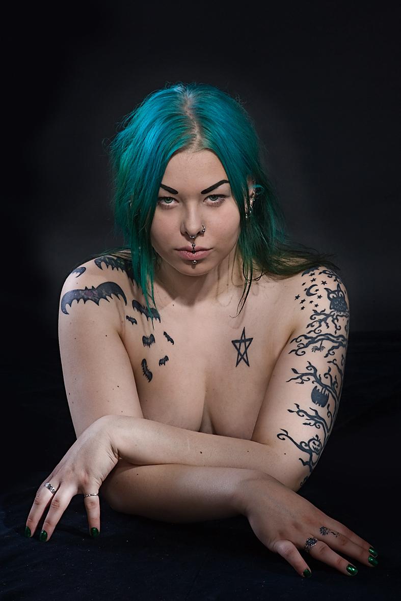 Tattooed woman n0. 1. by MoiraHermione