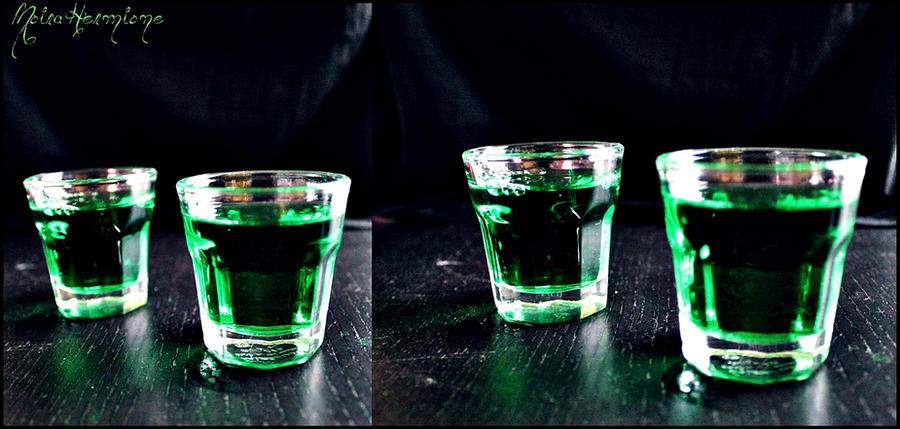 Mint booze. by MoiraHermione