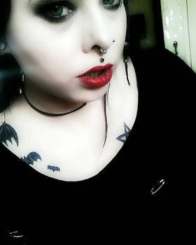 Blood Red Lips #1.