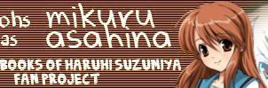 SOStmohs as Mikuru Asahina