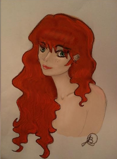 Sarah OC color by Reluuna
