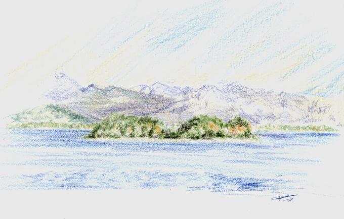 Krautinsel, Chiemsee by tempelziege