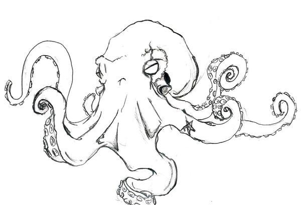 octopus - sleeve tattoo