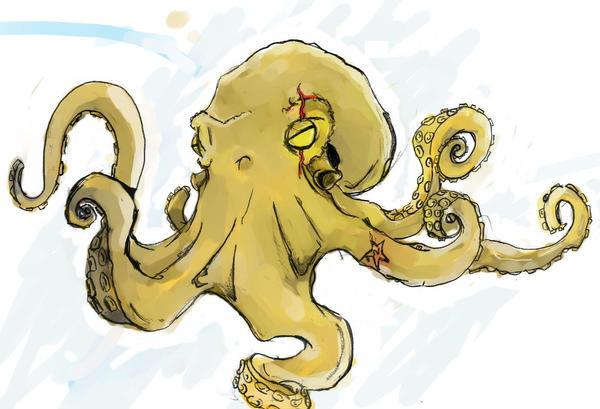 octopus color by noobstar