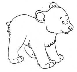 Fuzzy Bear Gift
