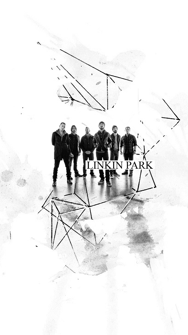 Linkin Park Iphone Background White World By