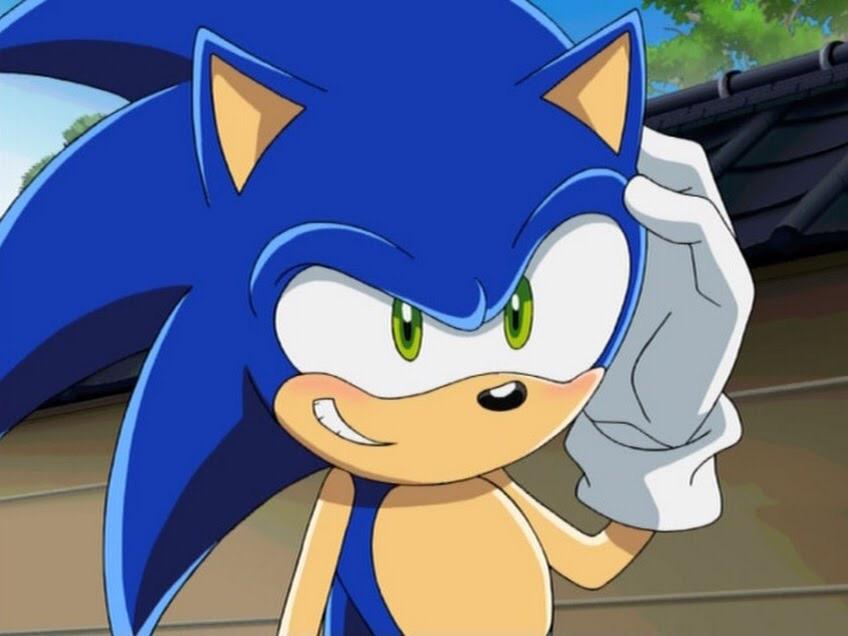 Sonic X Sonic The Hedgehog Blush By Lilian1676 On Deviantart