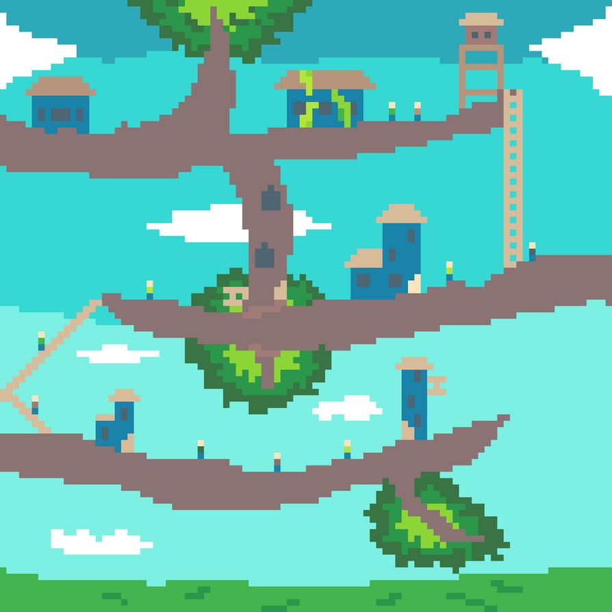 XX tree village XX by Roslyn102