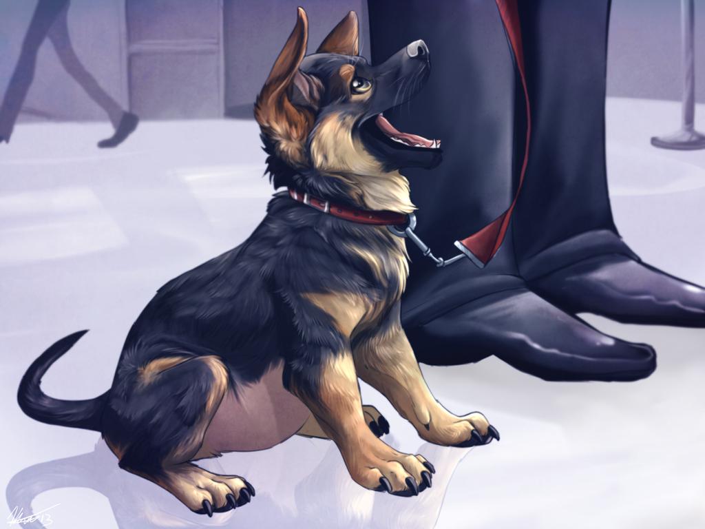 Puppy In Training by AeroSocks