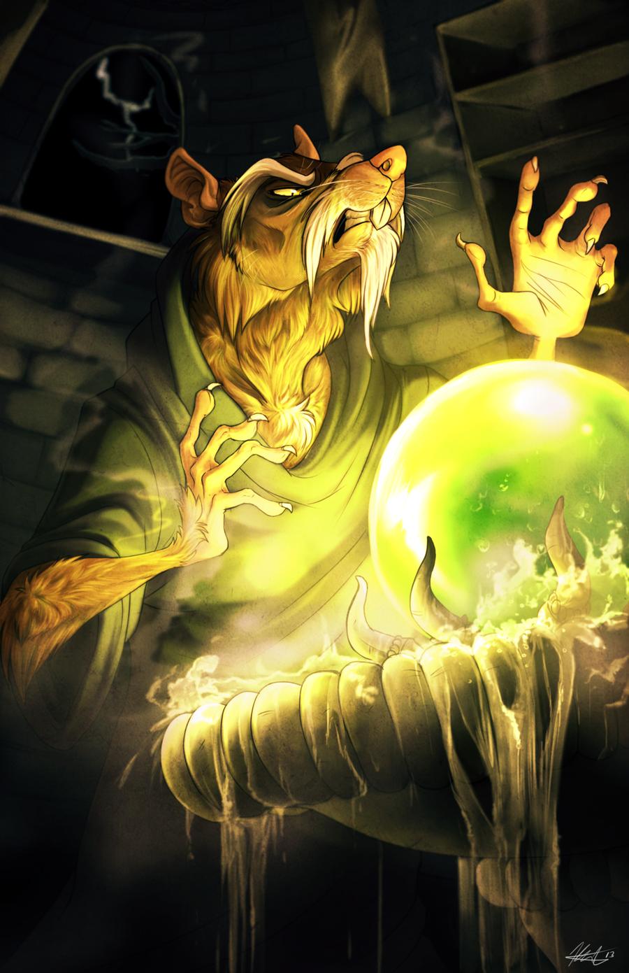 Somesort of Sorcery by AeroSocks
