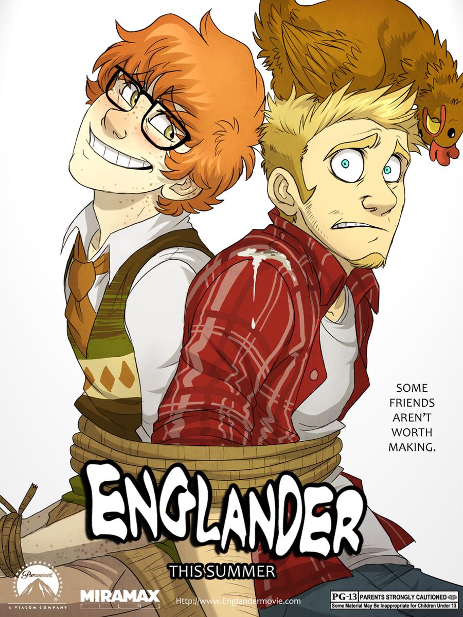 Englander Poster by AeroSocks