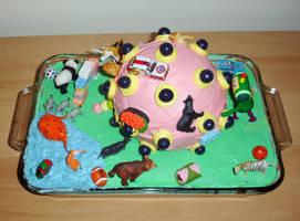 Katamari Cake by Super-Panda-Z