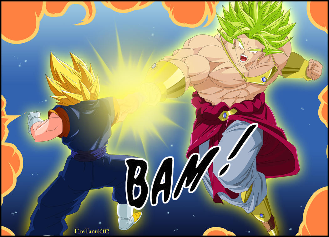 Vegueto vs Broly by FireTanuki02