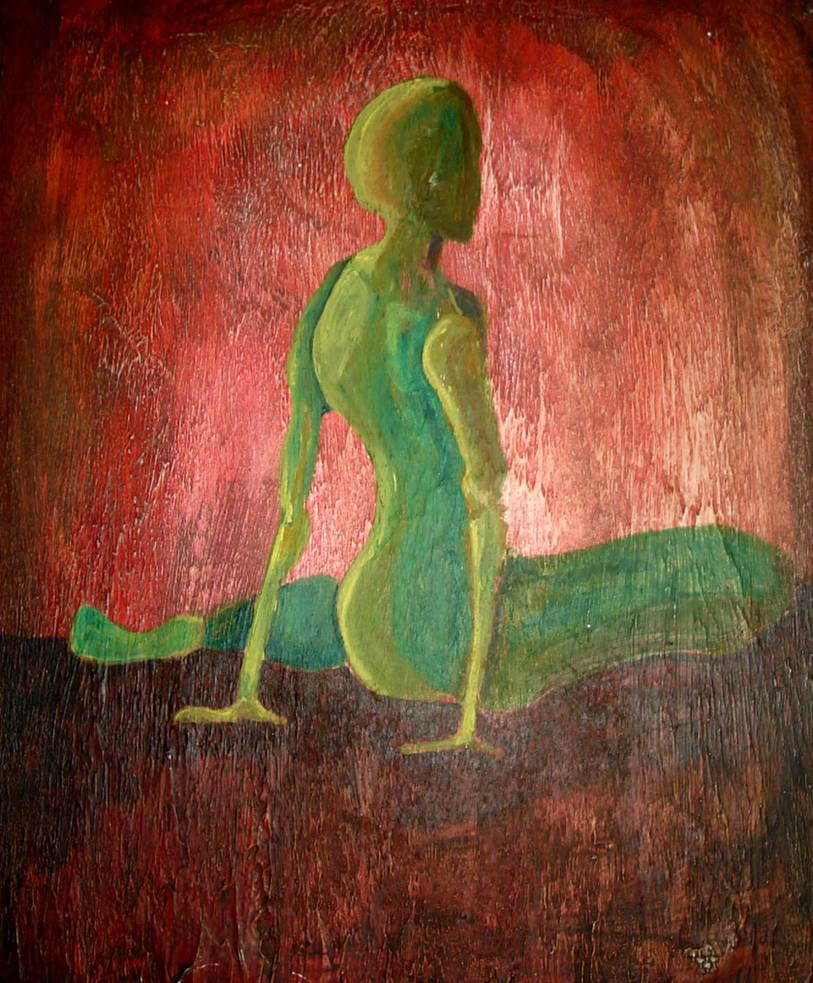 1995 Green Figure by wentzr