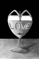 Glass of love.