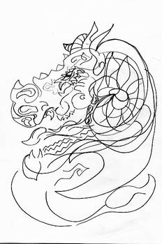Dragon and capricorn