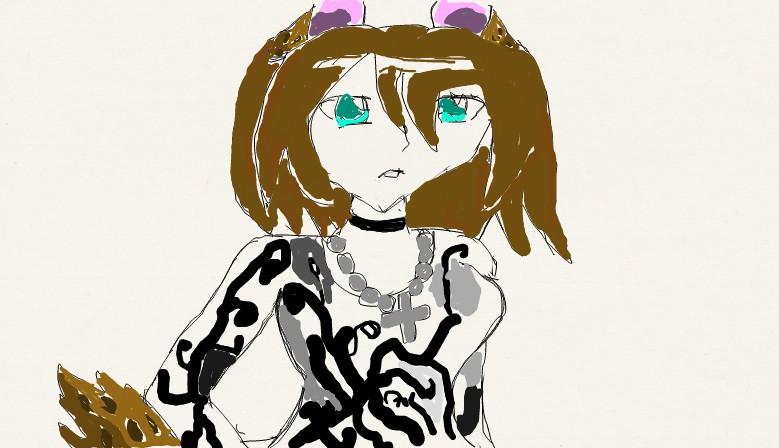 Shena the hyena kemonomimi by butterflyfox-4-life