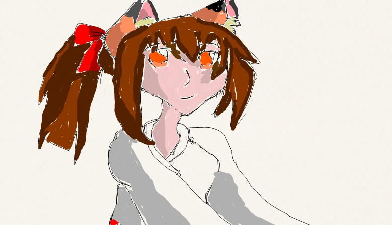 Fina the fox kemonomimi by butterflyfox-4-life