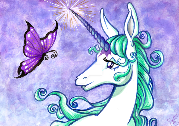 The Last Unicorn by supinternets