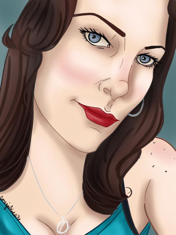 Deanna Cartoon by Imagin-Aries