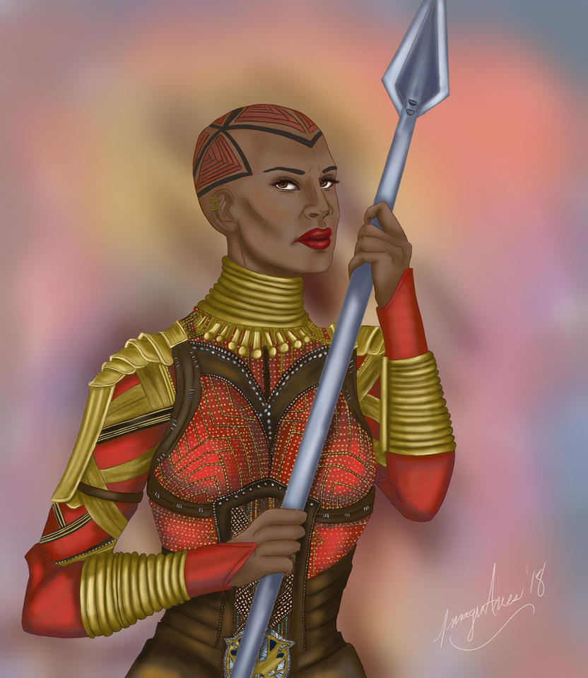 Okoye Commission by PyjamaPanda