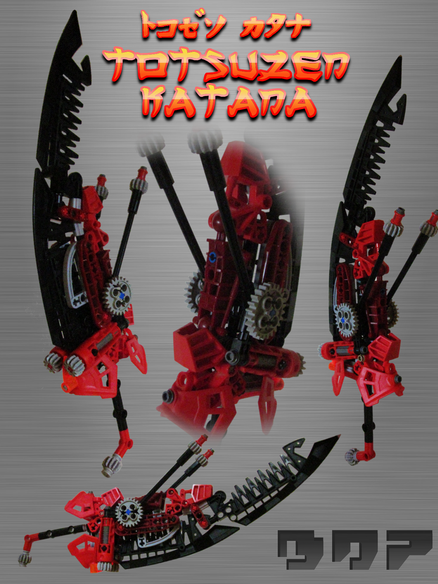 MOC: Totsuzen Katana by Biodrawxel