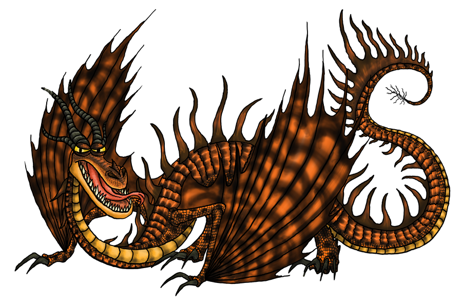 Monstrous Nightmare by dragonhalf13570 on DeviantArt