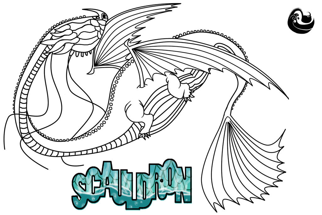 Scauldron Line Art And Character Template By ScaleBound