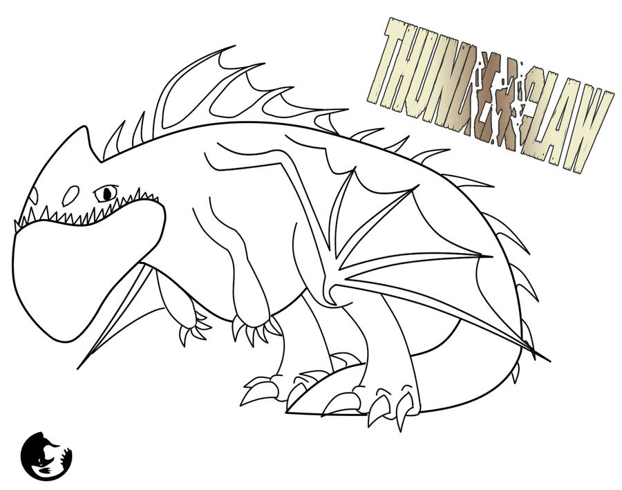 Thunderclaw Outline and Character Template by ScaleBound on DeviantArt