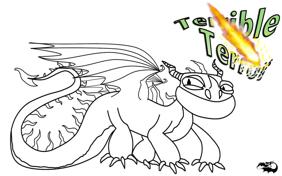 Terrible Terror Outline and Character Template by ScaleBound on ...